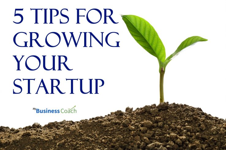 5 Tips for Growing Your Business Startup - My Business Coach